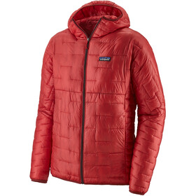 Patagonia Micro Puff Capuchon Jas Heren, fire